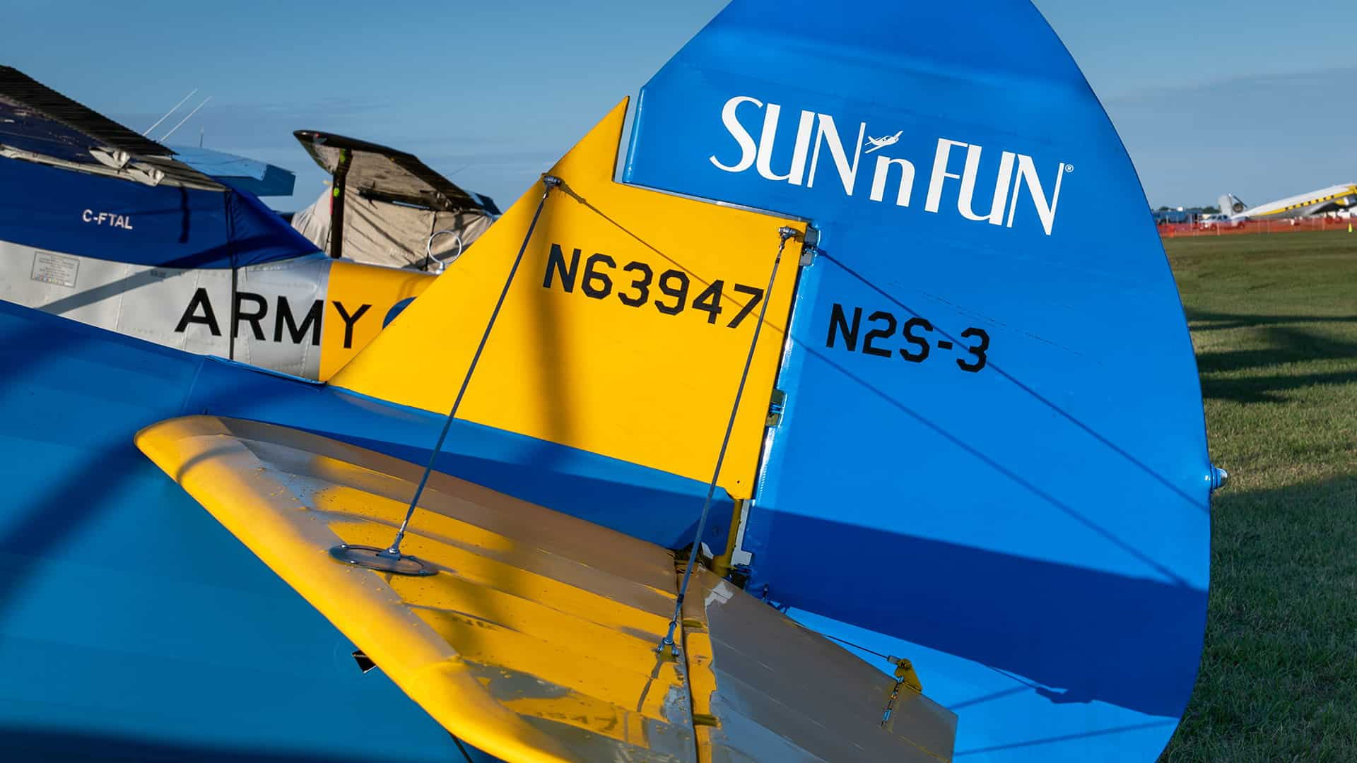 Plane with SUN n FUN Logo