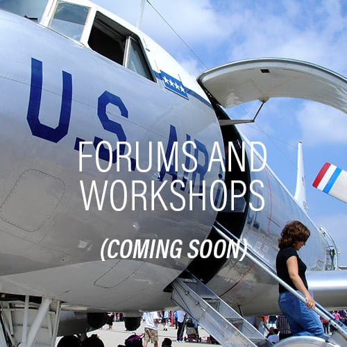 Forums and Workshops - Coming Soon!